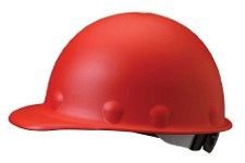 Fibremetal Hard Hat Red